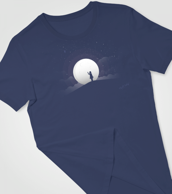 Reach For The Stars Mockup 1 Chill Baby T-shirt