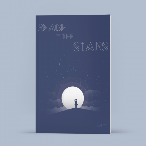 Chill Baby - Reach For The Stars Notebook / Journal 1